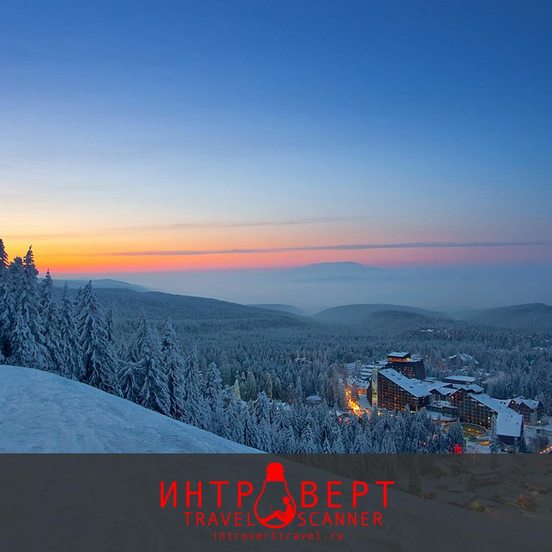 отдых на болгарском горнолыжном курорте Боровец в 2018 году