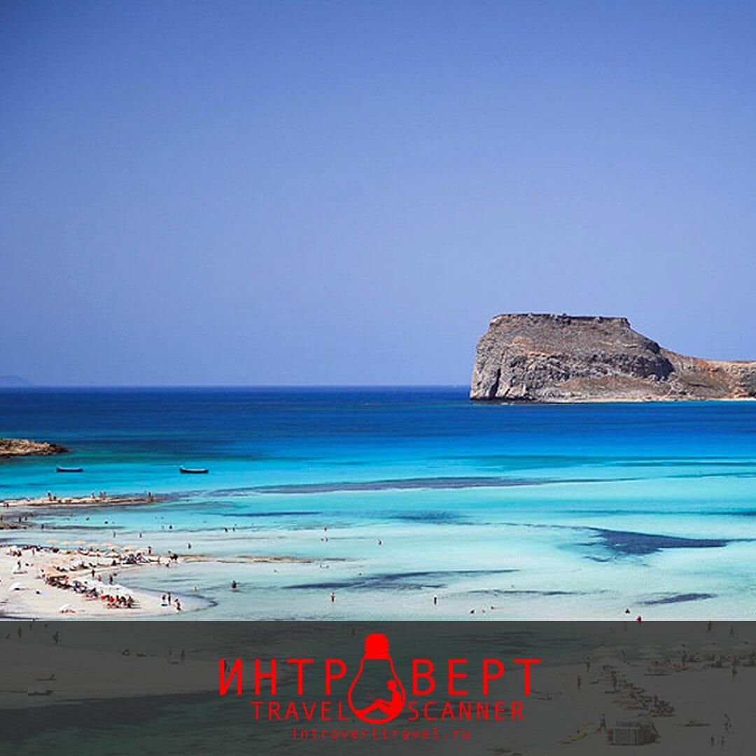 пляж Балос на Крите (Греция)