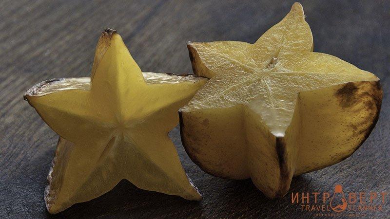 Карамбола (камрак, тропические звезды, старфрут)