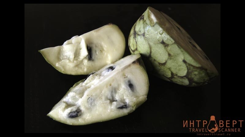 Черимойя (кремовое яблоко, дерево мороженого)