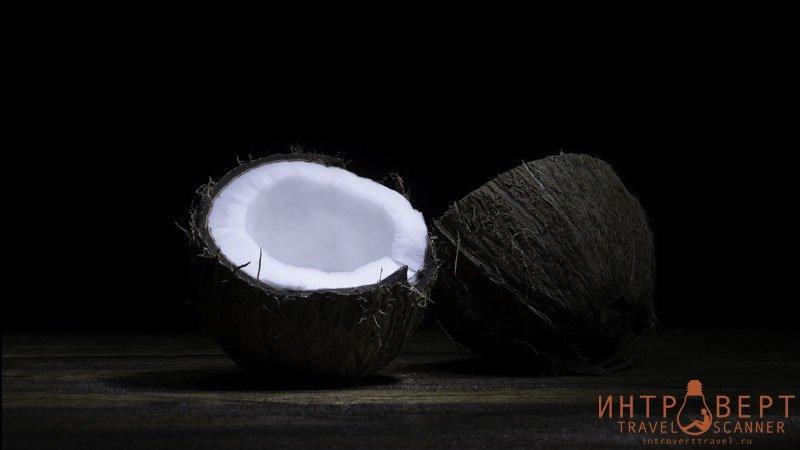 экзотические фрукты - кокос