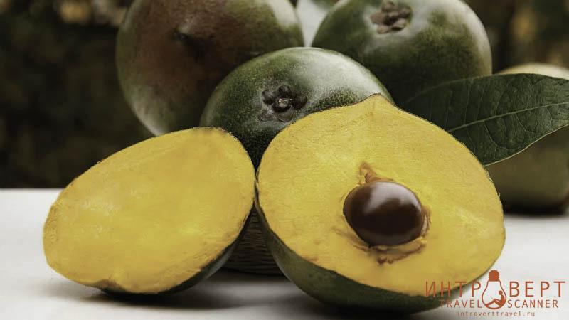 Лукума - экзотический и полезный фрукт