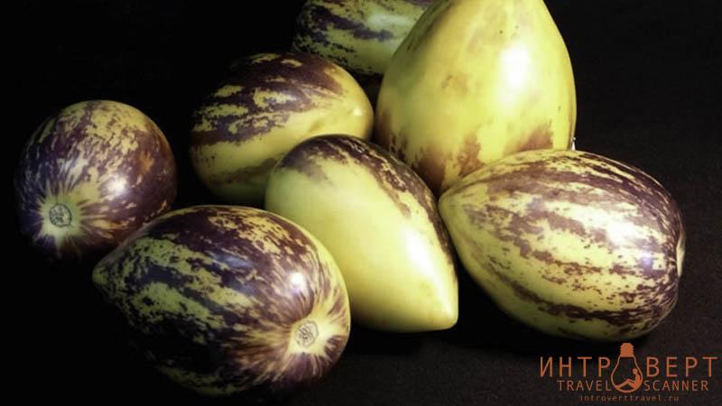 Пепино (дынная груша, сладкий огурец)