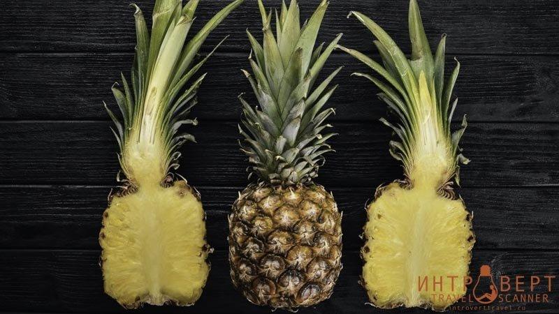 экзотические фрукты -  Ананас