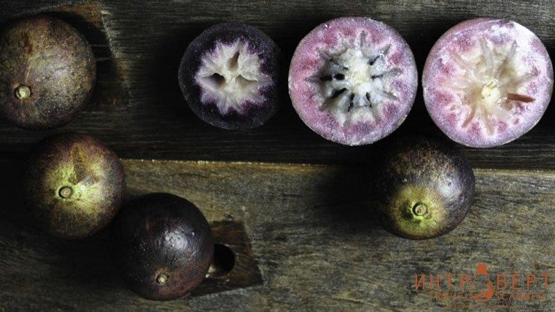 Звездное яблоко (стар эппл, хризофиллум, каинито, каимито, милкифрут)